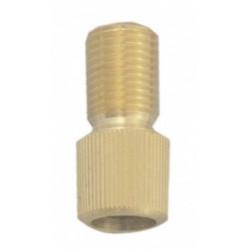 fietsbel voetbal 38 mm oranje