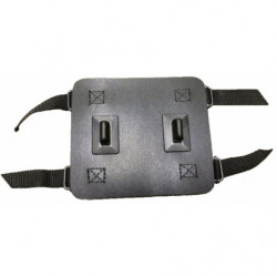kettingpons UG/HG staal zilver