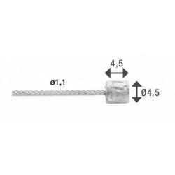 rubberen hamer 35,5 cm 1100...