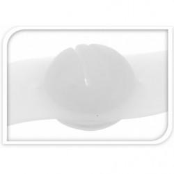 zadelbuisruimer 30,9 mm zilver