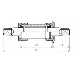 Buitenband BMX 16 x 1.75...