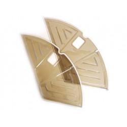 fietsbel 45 mm chroom
