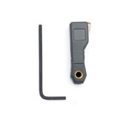 Kabeloog 4mm Rood (25...