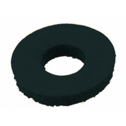 Broekklemmen PVC zwart per set